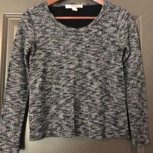 Forever 21 Women's Shirt Size XS Gray & Black